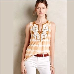 Anthropologie Floreat Sedna Tank